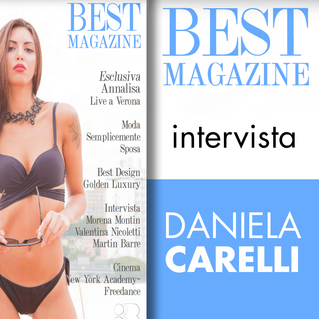 L'intervista su Best Magazine